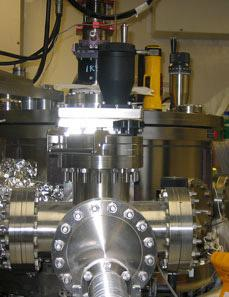 High Vacuum Sputter Deposition Chamber