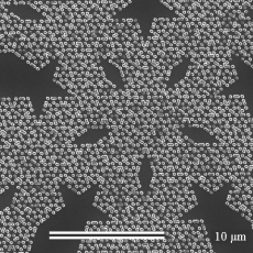Investigate the effects of fractal nano-magnet arrays on superconductors.